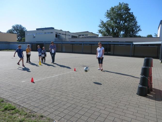 pass parcours fußball